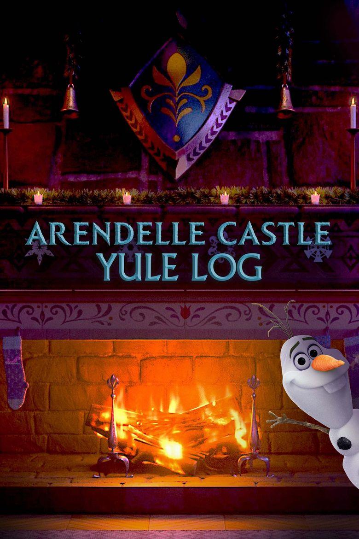Arendelle Castle Yule Log Poster