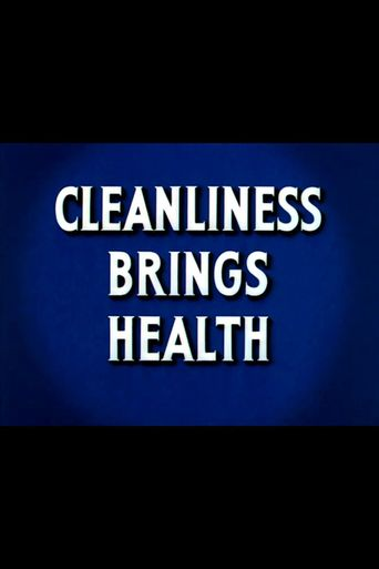 Health for the Americas: Cleanliness Brings Health Poster