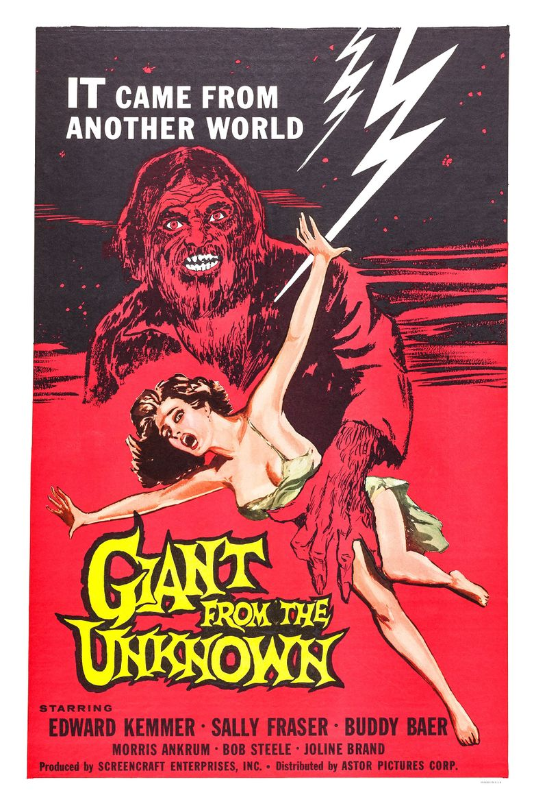 Giant from the Unknown Poster