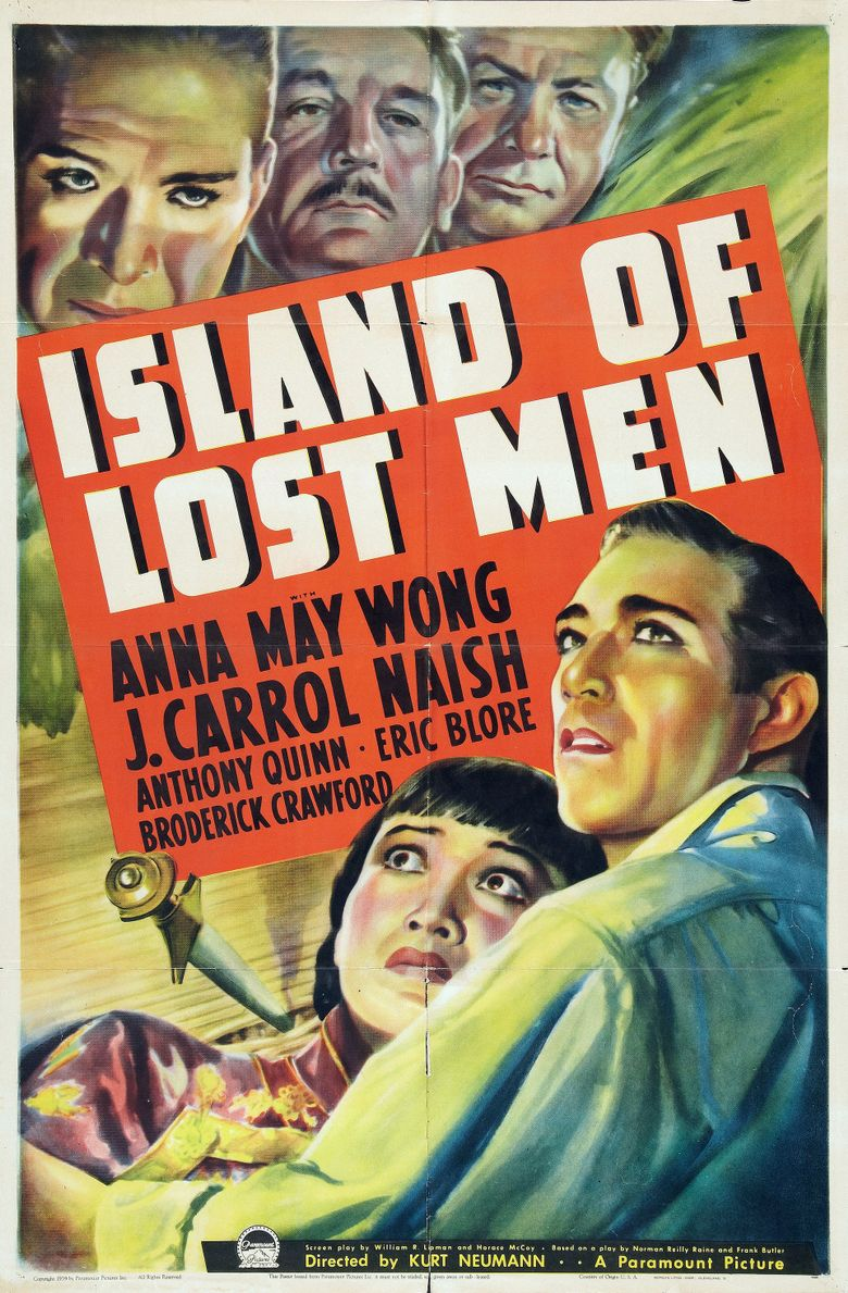 Island of Lost Men Poster