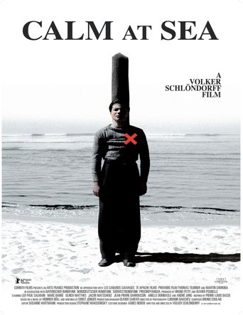 Calm at Sea Poster
