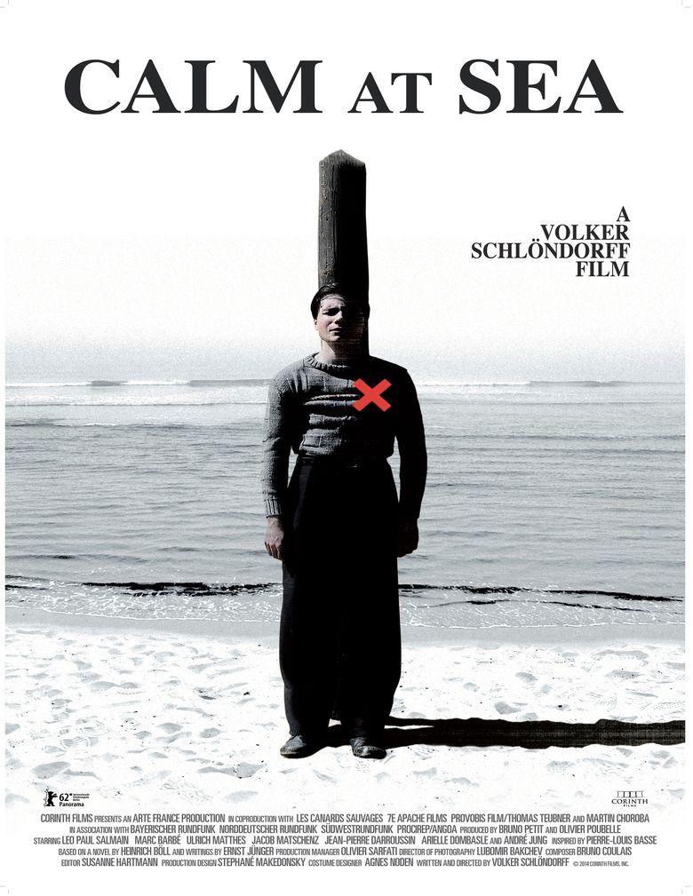 Calm at Sea Poster