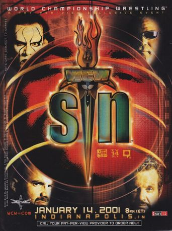 WCW Sin Poster