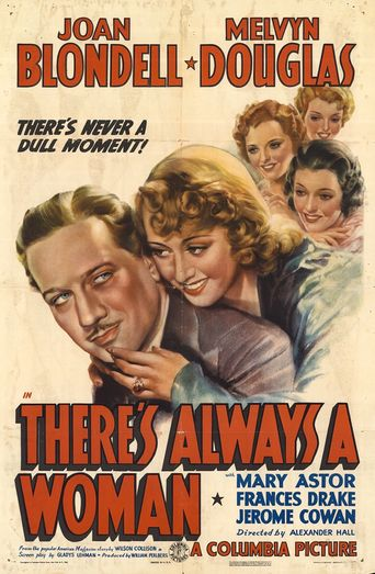 There's Always a Woman Poster
