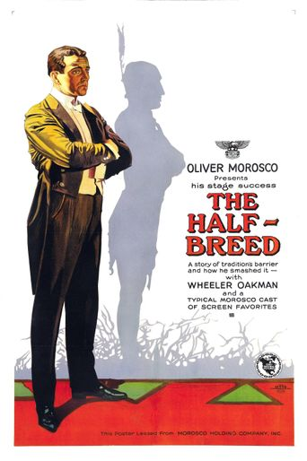 The Half Breed Poster