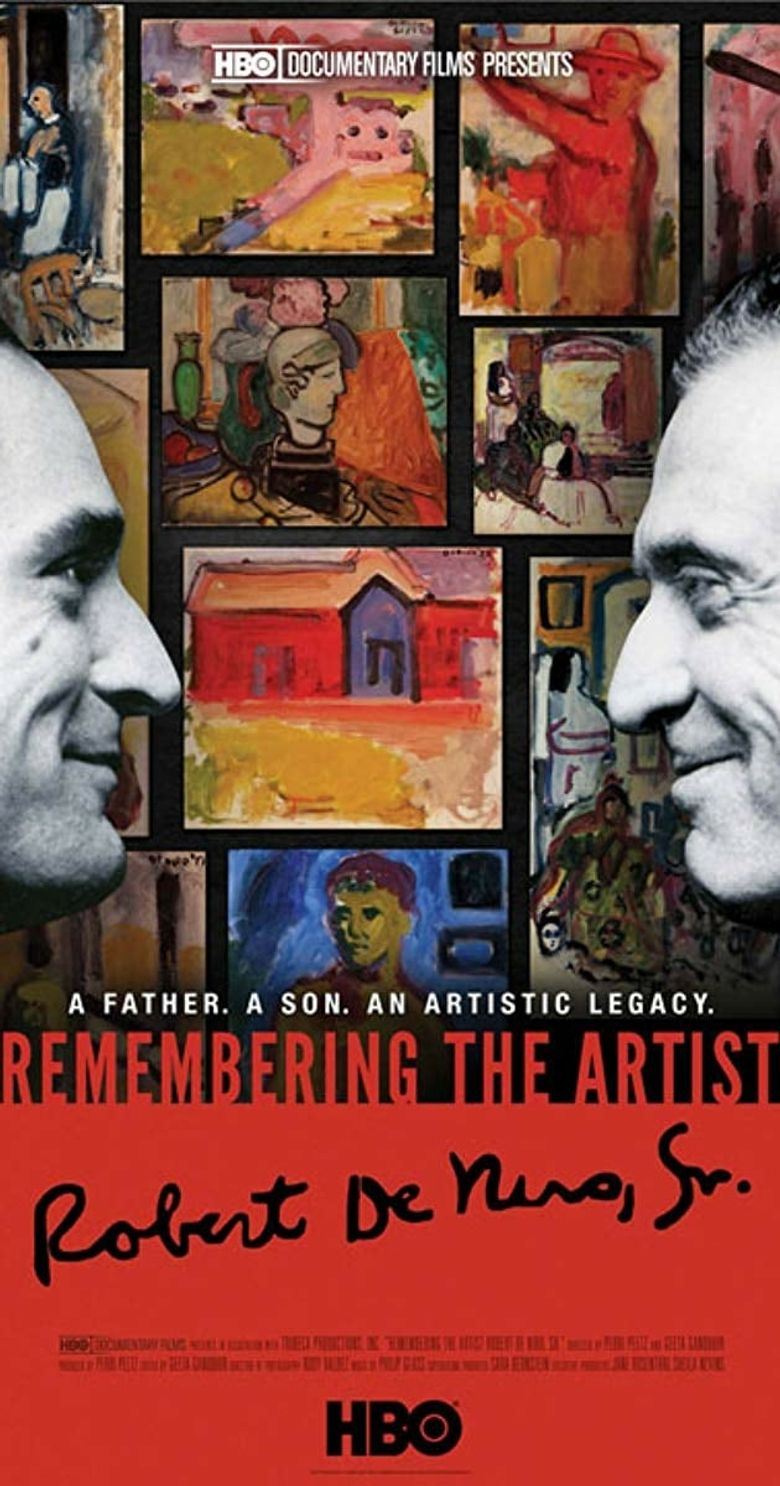 Remembering the Artist: Robert De Niro, Sr. Poster
