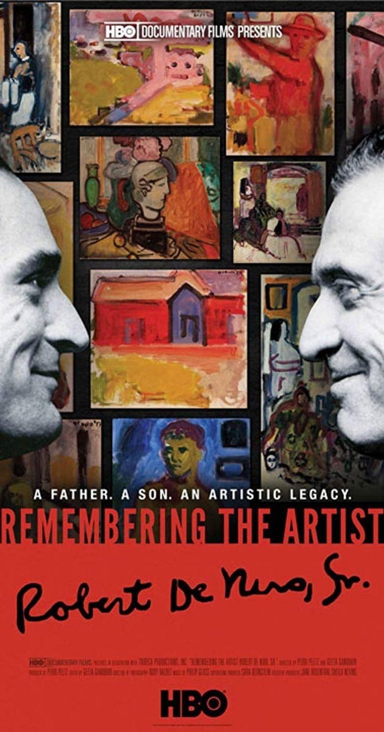 Remembering the Artist: Robert De Niro, Sr. Poster