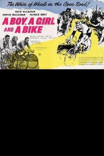 A Boy, a Girl and a Bike Poster