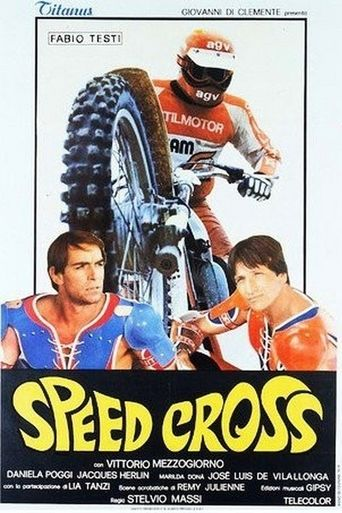 Speed Cross Poster