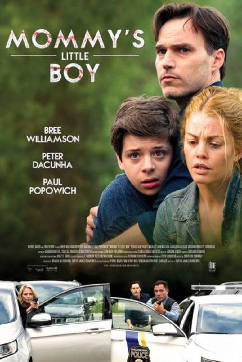 Mommy's Little Boy Poster