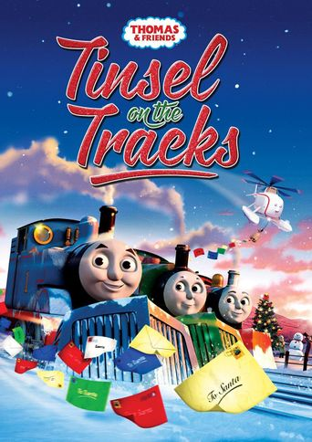 Thomas & Friends: Tinsel on the Tracks Poster