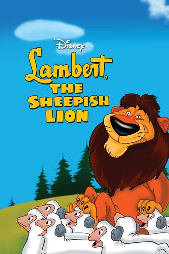 Lambert the Sheepish Lion Poster