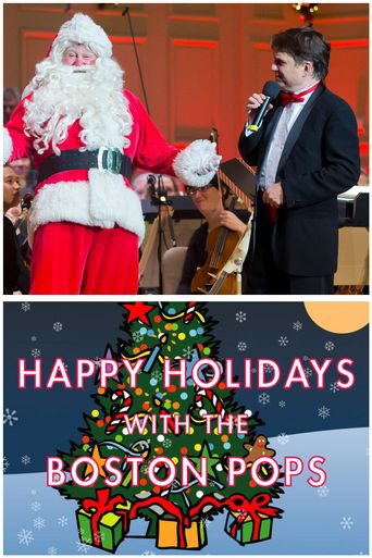 Happy Holidays with the Boston Pops Poster