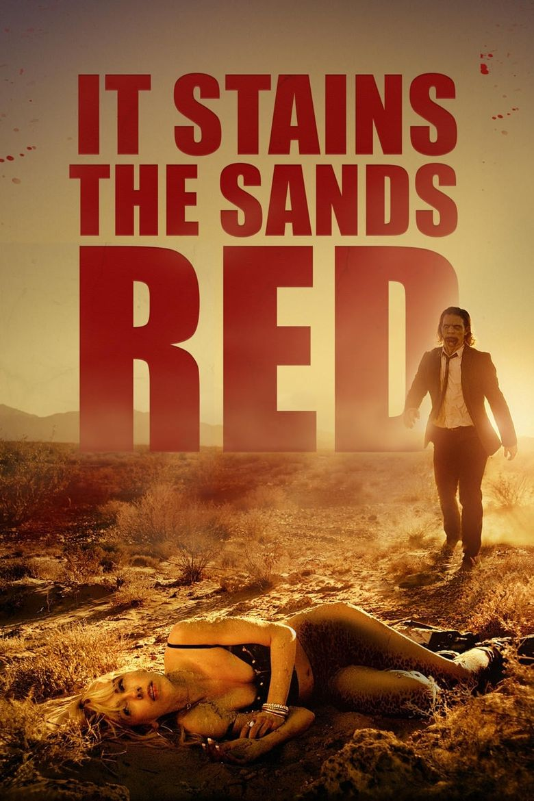 It Stains the Sands Red Poster