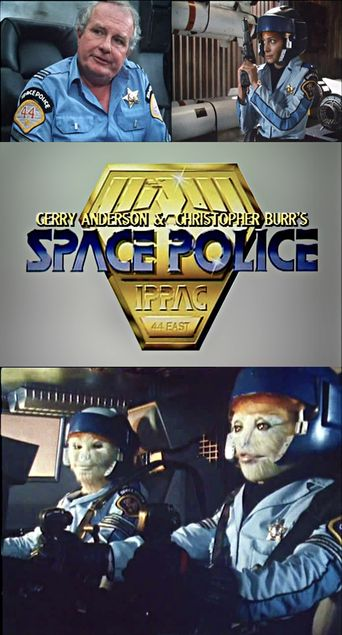 Space Police Poster