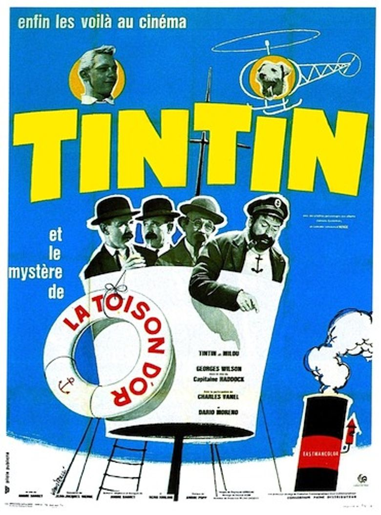 Tintin and the Mystery of the Golden Fleece Poster
