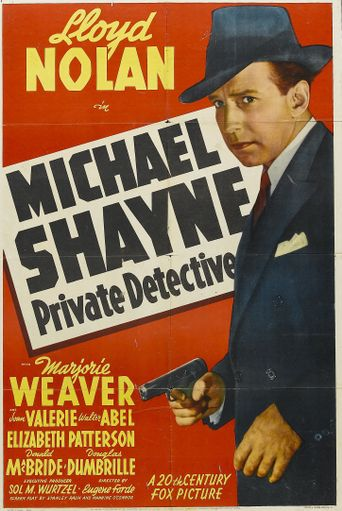 Michael Shayne: Private Detective Poster
