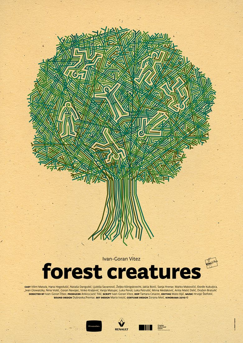 Forest Creatures Poster
