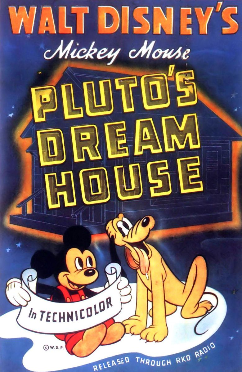 Pluto's Dream House Poster