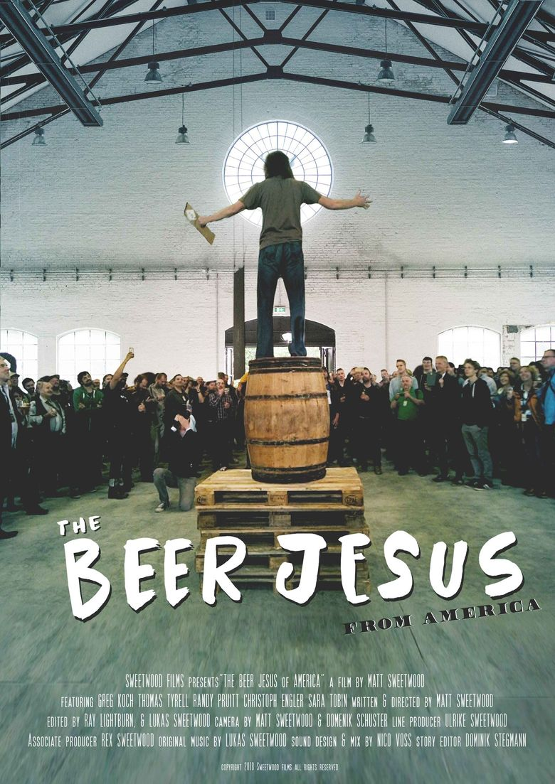 The Beer Jesus from America Poster