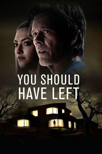 You Should Have Left Poster