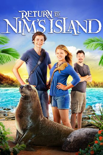 Return to Nim's Island Poster