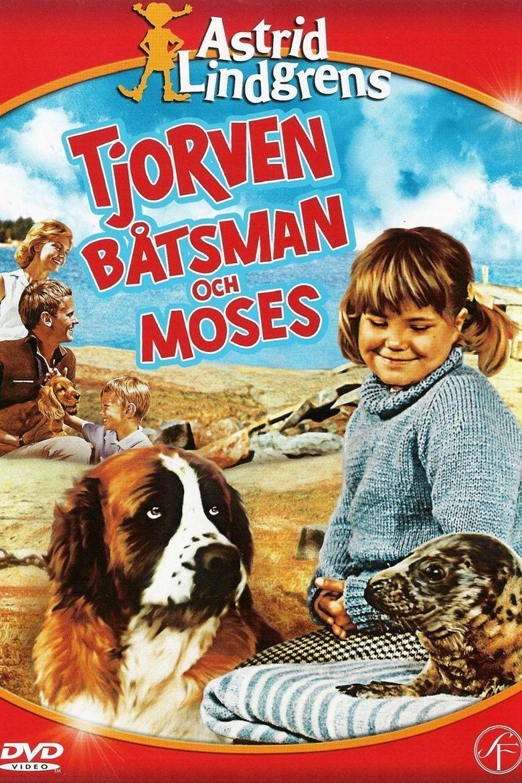 Tjorven Båtsman och Moses Poster