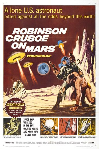 Robinson Crusoe on Mars Poster