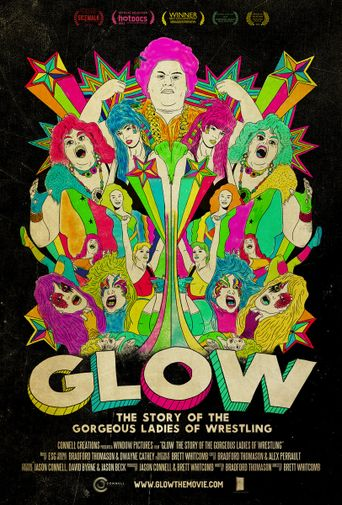GLOW: The Story of the Gorgeous Ladies of Wrestling Poster