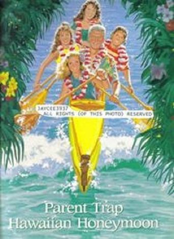 Parent Trap: Hawaiian Honeymoon Poster