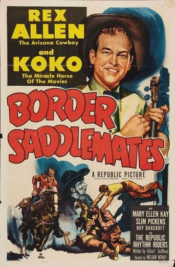 Border Saddlemates Poster