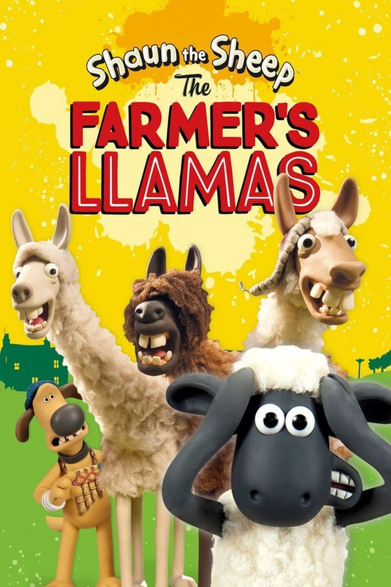 Shaun the Sheep: The Farmer's Llamas Poster