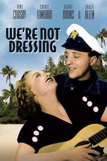 We're Not Dressing Poster