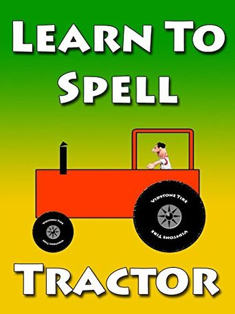 The Red Tractor Poster