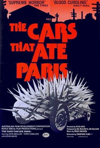 The Cars That Ate Paris Poster