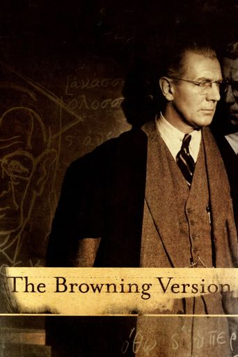 Watch The Browning Version