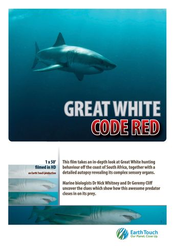 Great White Code Red Poster