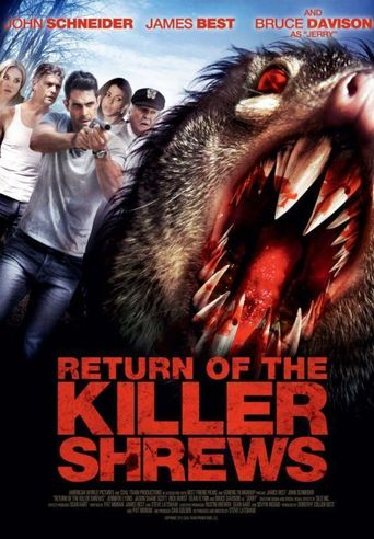 Return of the Killer Shrews Poster