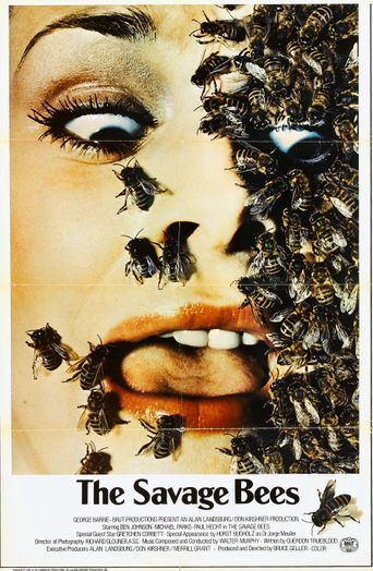 The Savage Bees Poster