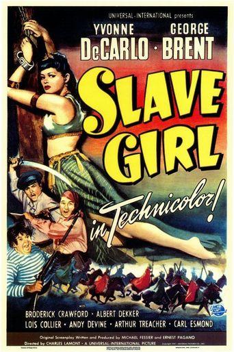 Slave Girl Poster