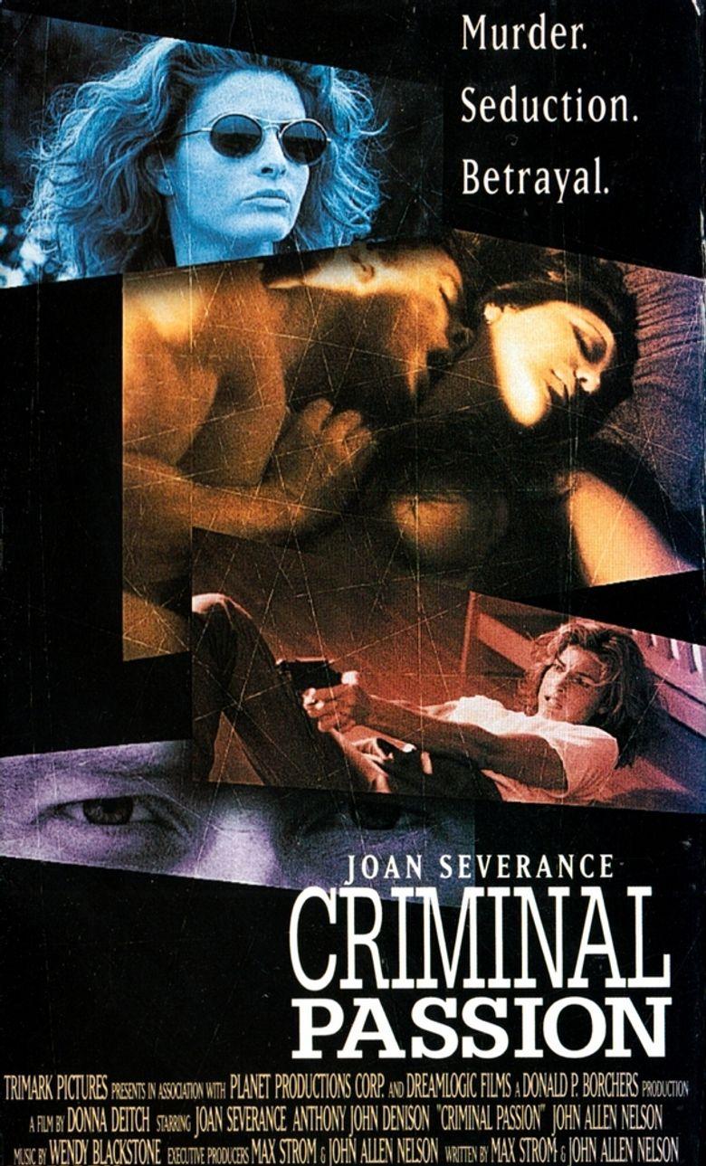Criminal Passion Poster