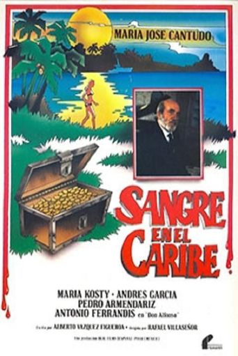 Sangre en el Caribe Poster