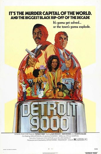 Detroit 9000 Poster