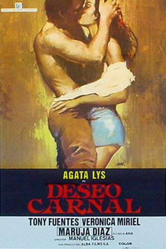 Deseo carnal Poster