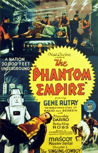 The Phantom Empire Poster