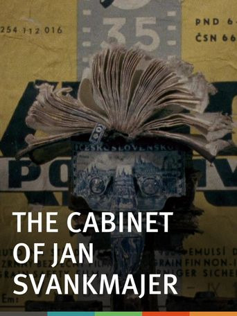 The Cabinet of Jan Svankmajer Poster