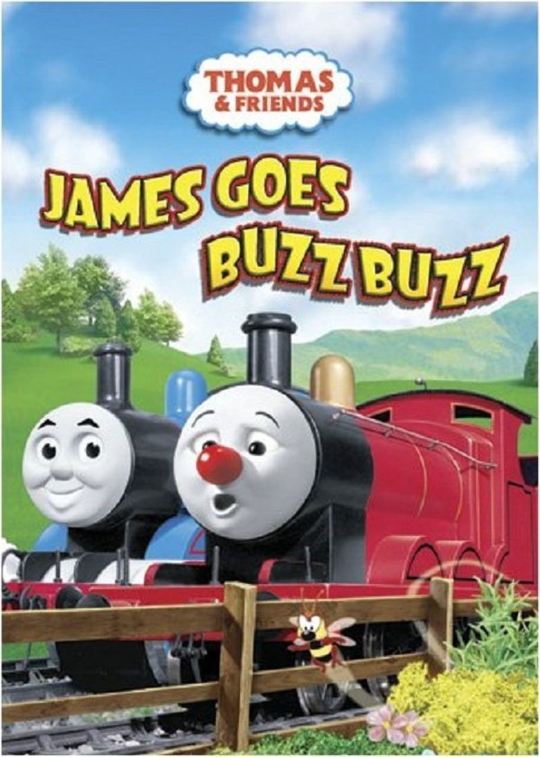 Thomas & Friends: James Goes Buzz Buzz Poster