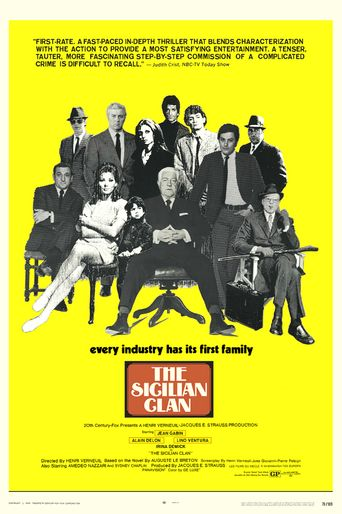 The Sicilian Clan Poster