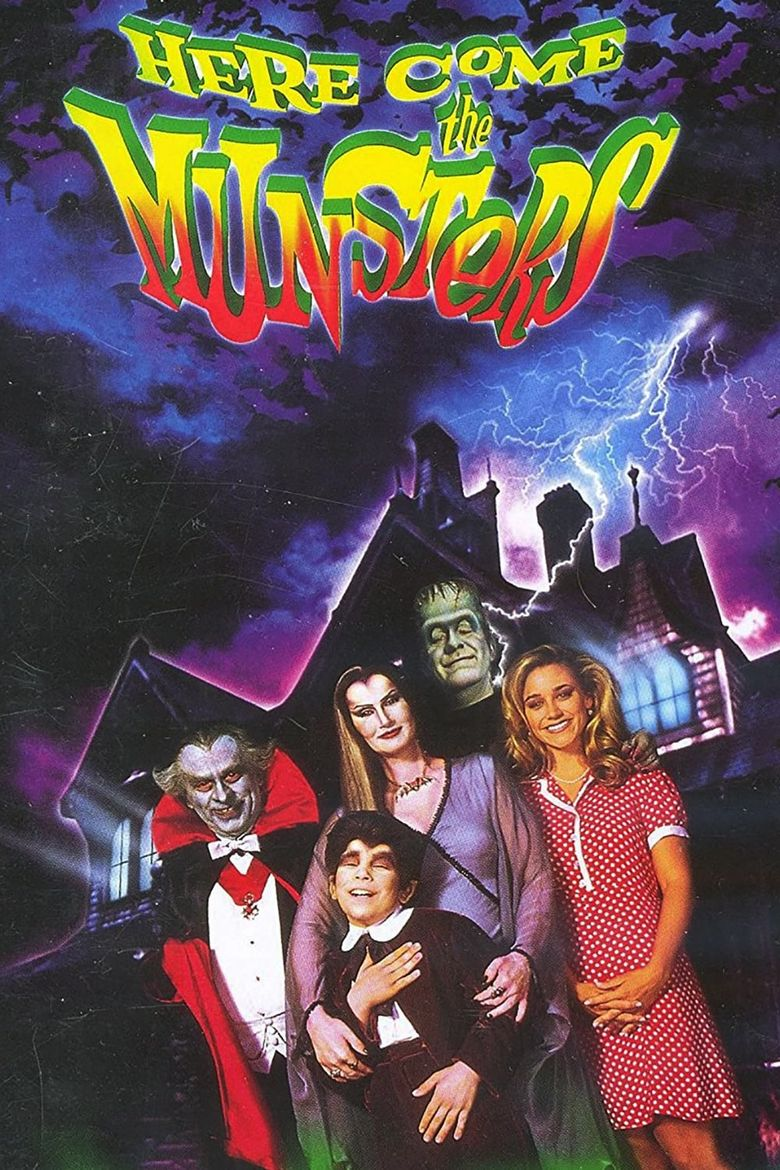 Here Come the Munsters Poster
