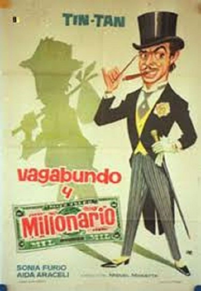 Vagabundo y millonario Poster